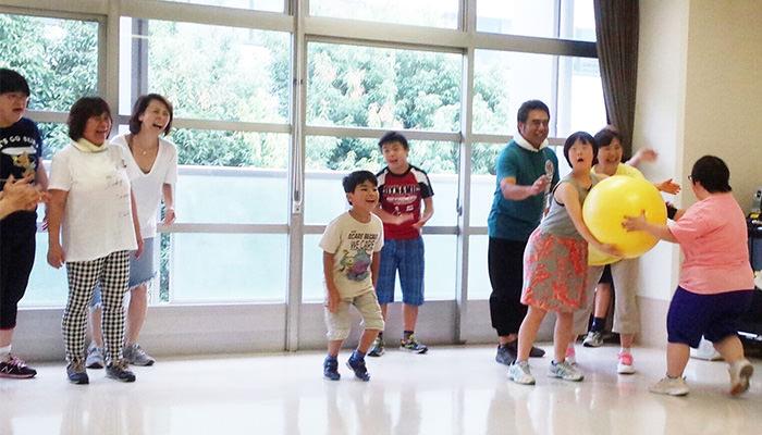 たけのこ先生の体操教室