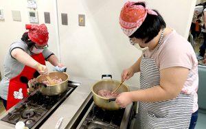 ジャージャー麺作り2