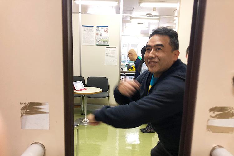ド・パンプ控室